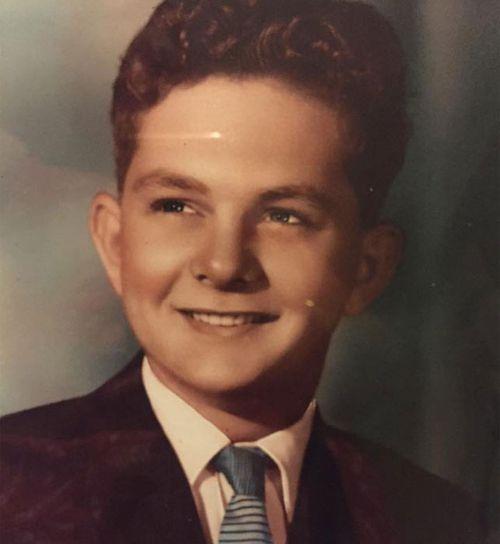 Kim's father Alan Maurice Roberts as a young man.
