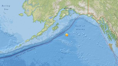 Tsunami warning issued after 8.2 magnitude earthquake off Alaska