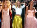 A history in Emmys red carpet fashion