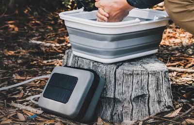 Purified water off the grid