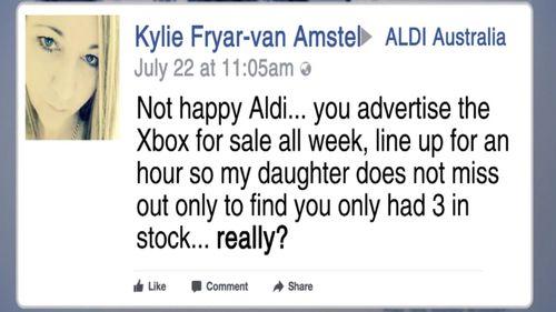 Aldi customers are unhappy.