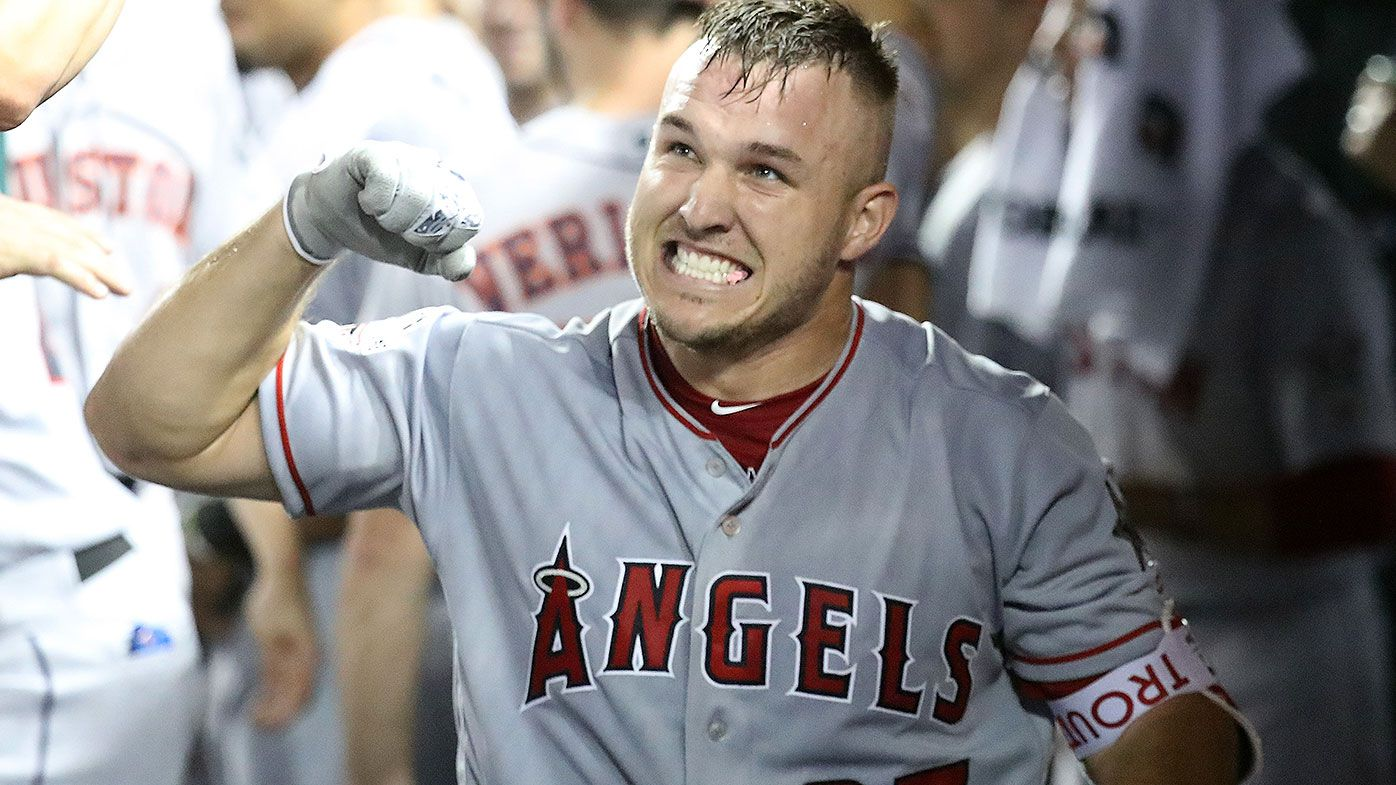 Los Angeles Angels Mike Trout card sells for record price