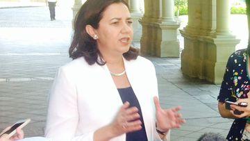 Annastacia Palaszczuk is confident Labor will form government. (9NEWS/Shane Doherty)