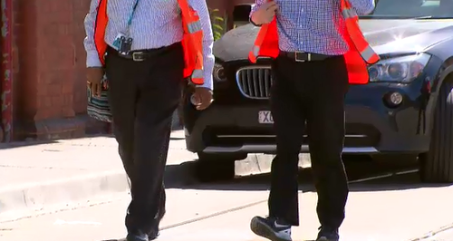 The function was not an official Yarra Trams event. (9NEWS)