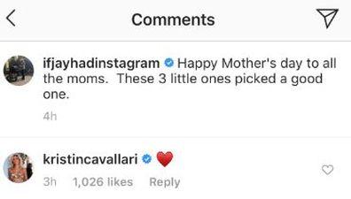 Kristin Cavallari, Jay Cutler, Mother's Day tribute