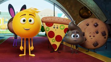 """""""The Emoji Movie"""" has received Hollywood's most famous frown, the Razzie Award, for worst picture of 2017. (Sony Pictures Animation)"""