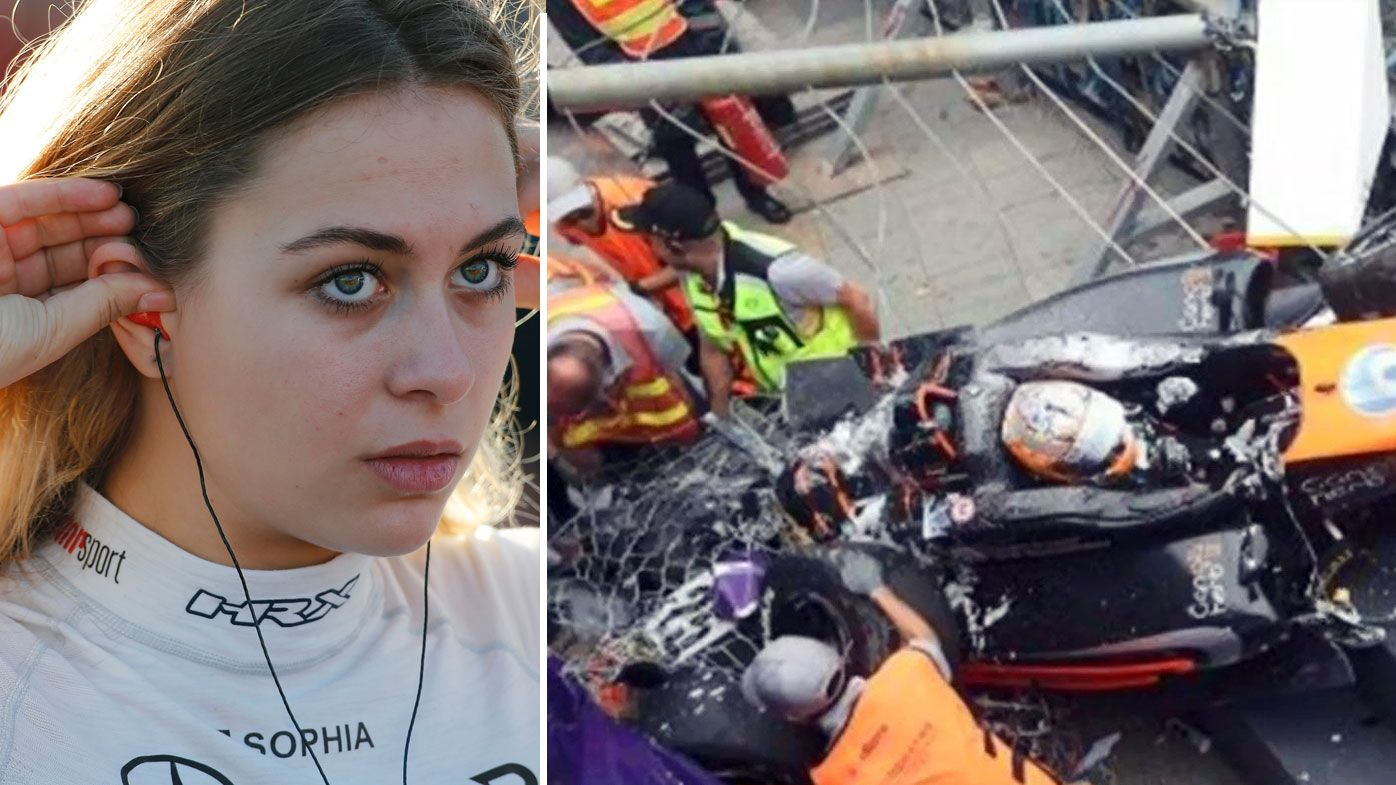 'A miracle': Sophia Florsch reveals what saved her in horror 270km/h F3 crash