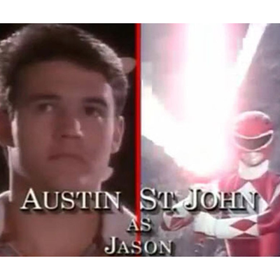 Austin St John as Red Ranger/Jason Lee Scott: Then