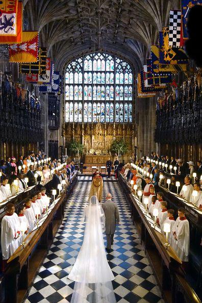 Royal wedding St George's Chapel, Windsor Castle.