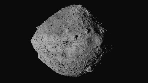 The final four candidate sample collection sites on asteroid Bennu were designated Nightingale, Kingfisher, Osprey and Sandpiper. Credit: NASA/Goddard/University of Arizona/CSA/York/MDA