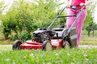 Mowing the lawn: 36 minutes