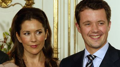 Princess Mary and Prince Frederik, October 2003