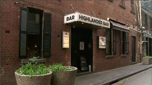 The Highlander Bar where Eurydice Dixon had performed that night.