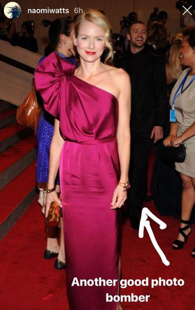 Naomi Watts attends Met Gala