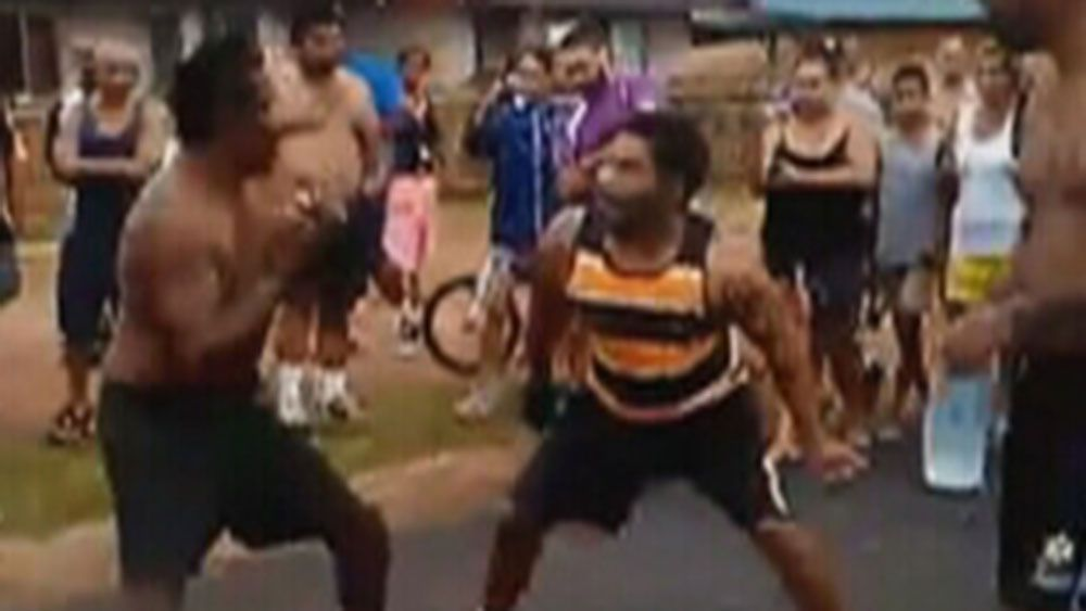 Chris Sandow charged over street fight