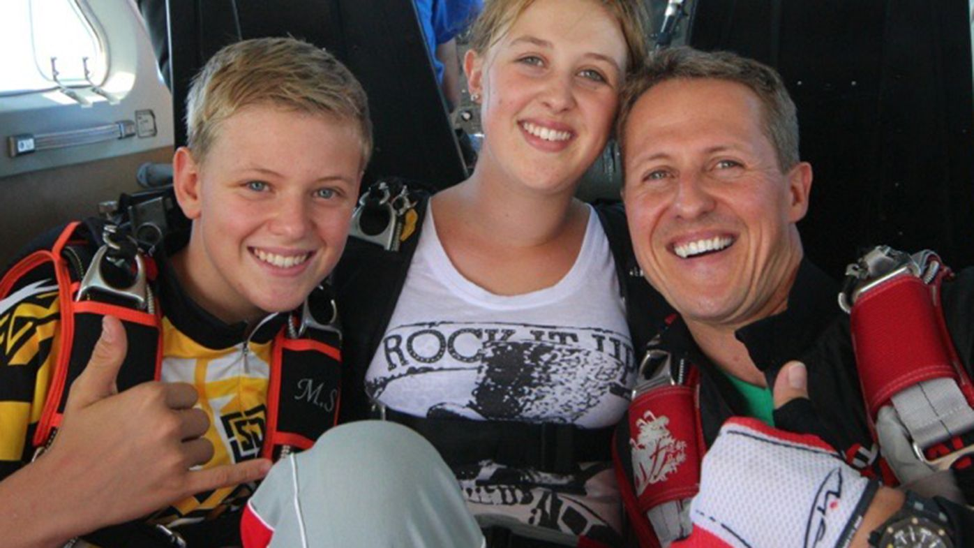 Mick Schumacher 'would give up everything' to share F1 experience with father Michael