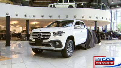 Mercedes-Benz X-Class recalled over faulty tyre pressure monitoring software