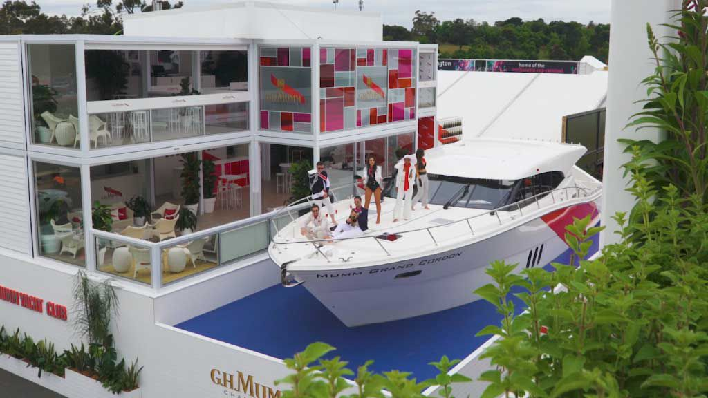 The Birdcage gets its first ever yacht