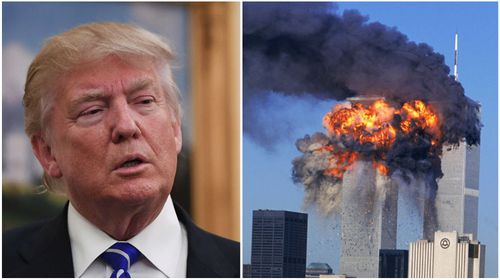 President Trump brags of 'higher TV ratings' than 9/11 coverage
