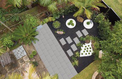 Japanese-inspired Zen garden