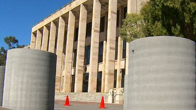 WA Parliament installs concrete bollards to prevent terror attacks