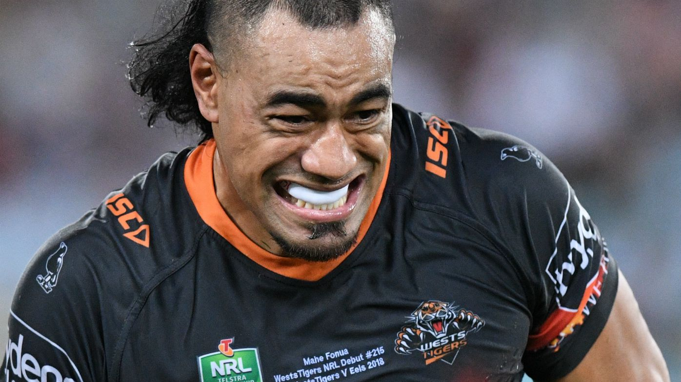 Mahe Fonua of the Tigers