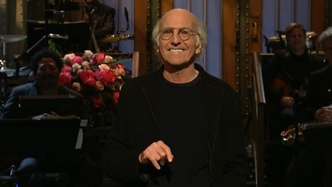 Larry David's SNL monologue