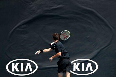 Tennis tantrum