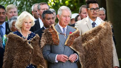 <p>Prince Charles and Camilla are continuing their 12-day tour Down Under, making their way across New Zealand. Yesterday they visited Turangawaewae Marae in Hamilton, where they arrived wearing Korowai, traditional Maori woven cloaks.</p><p>Click through the gallery to see the latest photos from their trip. (AAP)</p>
