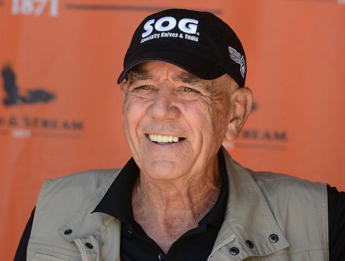 Ermey died from pneumonia-related complications aged 74. (AAP)