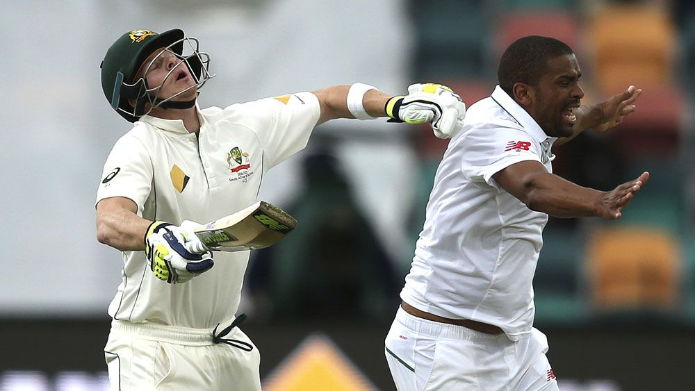 Philander plays on after painful clash