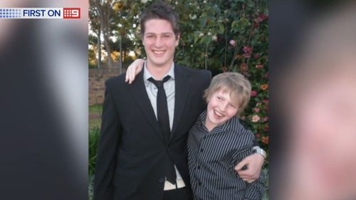 Andrew Heffernan's parents described him as generous and caring. (9NEWS)