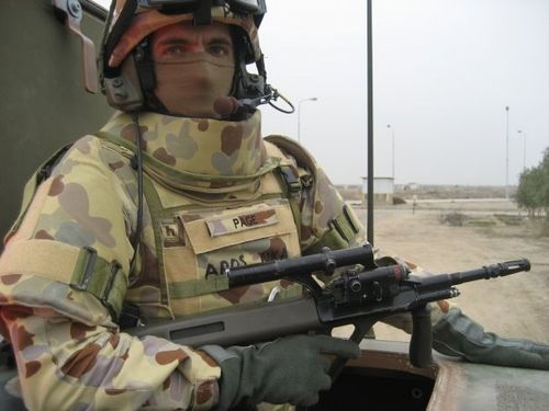 Matt Page was deployed to Afghanistan and Iraq during his time in the Army Reserve.