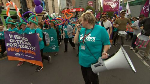 United Voice, the industry union body for early childcare workers, said many staff members are being paid as low as $22 an hour.