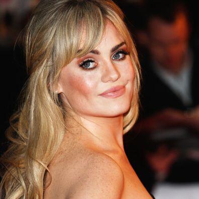 Singer Duffy arrives for the Brit Awards 2009.