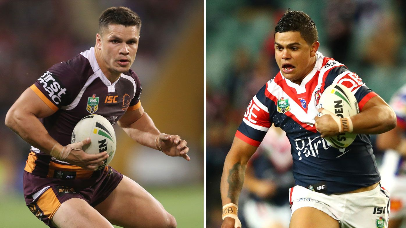 James Roberts and Latrell Mitchell