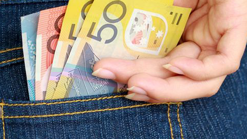 Money back pocket Today logo