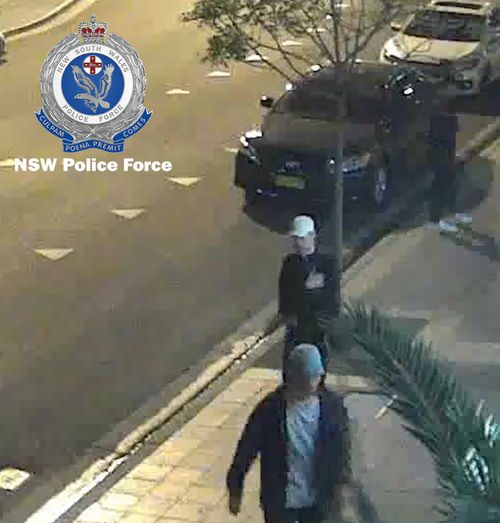 Anyone who recognises the people, or has information about the fire, is urged to contact investigators. Picture: NSW Police