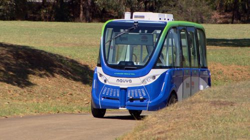 The state government is at work developing driverless shuttles.