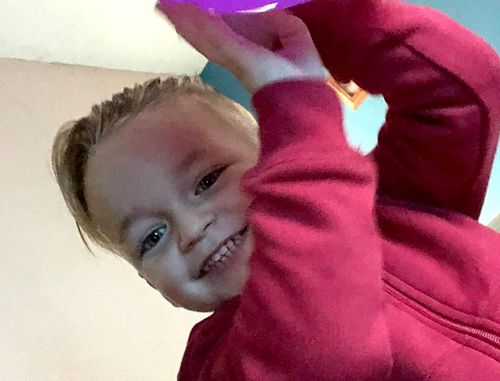 Alfie Lamb, 3, died after he was crushed by a car seat.