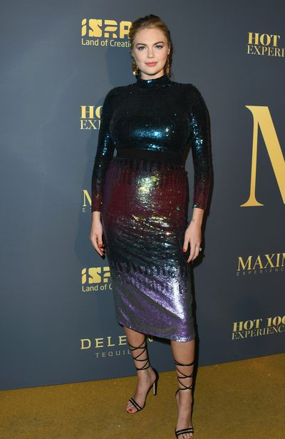 "<p>Kate Upton at the Maxim Hot 100<a href=""https://style.nine.com.au/2018/06/08/11/11/kate-upton-maxim"" target=""_blank"" title=""Maxim Hot 100 "" draggable=""false"">&nbsp;</a>Experience in Los Angeles, July, 2018</p>"