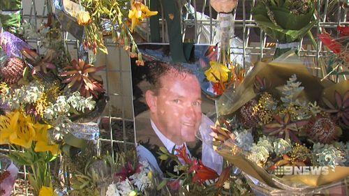 Daniel Howard died when a wall collapsed while he was battling a hotel blaze. (9NEWS)