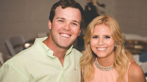 Hana and Tyler Noland  both escaped the accident uninjured. (Facebook)