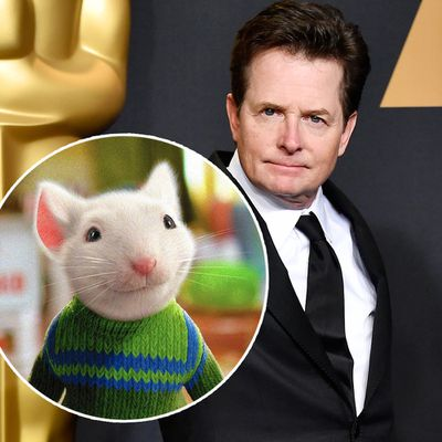 Michael J. Fox as Stuart Little