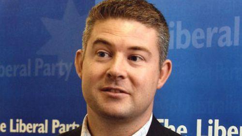 Former Victorian Liberal party director Damien Mantach.