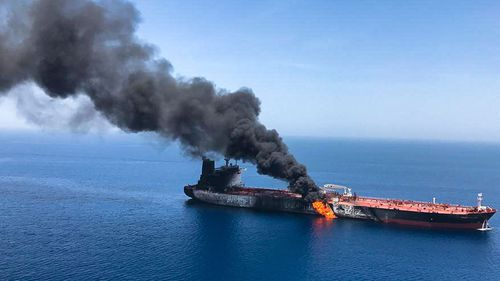 US Drone Debris Retrieved in Iranian Waters - Tehran FM Zarif