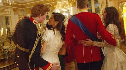 Pics: Did Prince Harry grope Pippa Middleton's butt at the royal wedding?