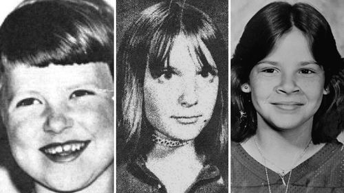 Eight-year-old Annie Marie Burr from Tacoma, Washington; Lynette Culver, a 12-year-old Idaho girl; Kimberley Leach, a 12-year-old from Florida.