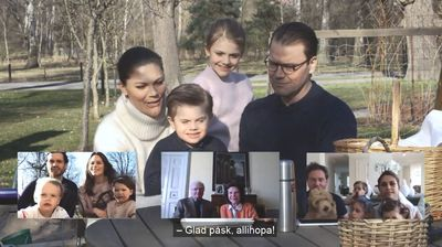 The Swedish Royals celebrate a 'digital Easter'