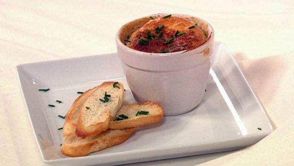 French onion souffle
